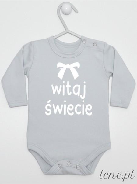 Witaj Świecie 02 - body niemowlęce