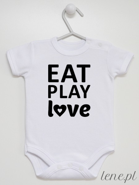 Eat Play Love - body niemowlęce