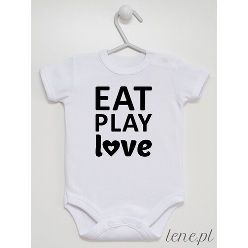 Body niemowlęce Eat Play Love