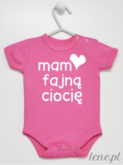 Body niemowlęce Mam Fajną Ciocię