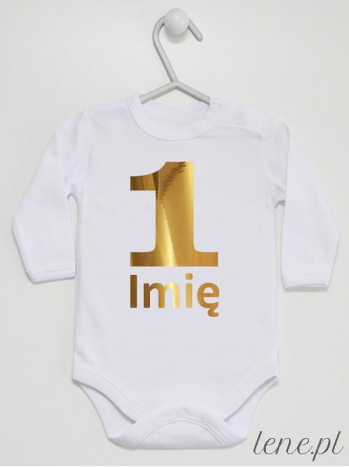 Body niemowlęce Na Roczek + Imię 04