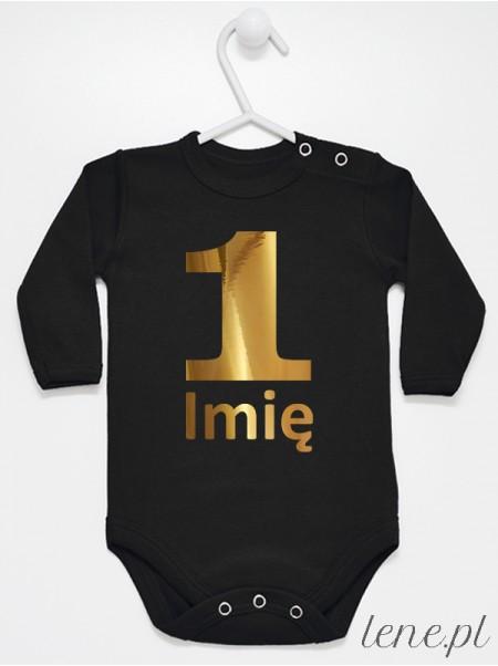 Na Roczek Z Imieniem 04 - body niemowlęce