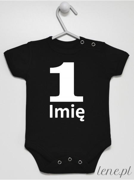 Na Roczek + Imię 05 - body niemowlęce