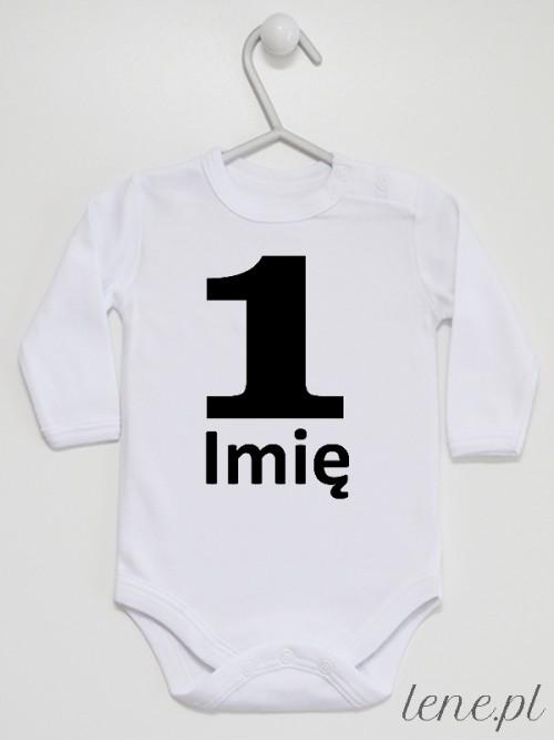 Body niemowlęce Na Roczek + Imię 05