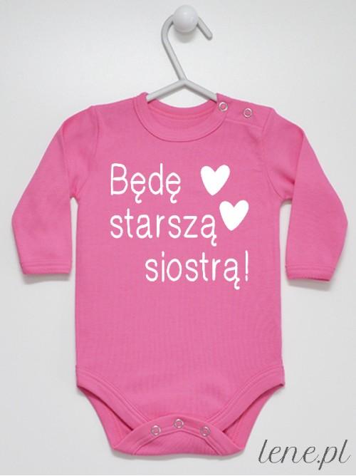 Body niemowlęce Starsza Siostra