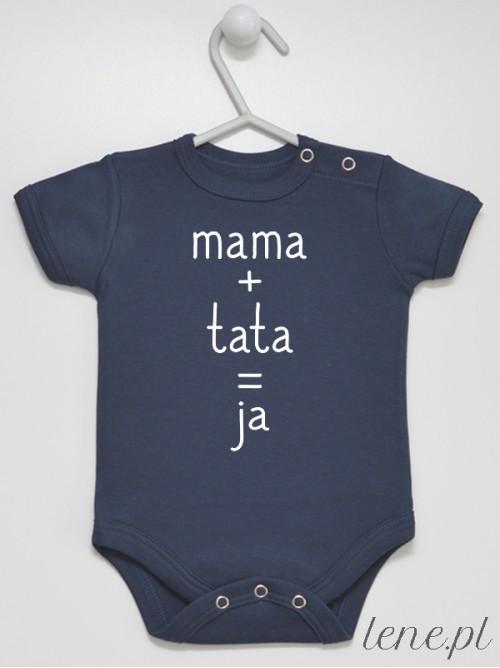 Body niemowlęce  Mama Tata Ja