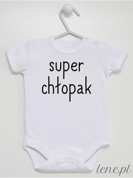Super Chłopak - body niemowlęce