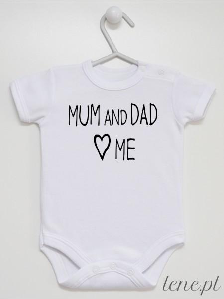 Mum And Dad Love Me 02 - body niemowlęce
