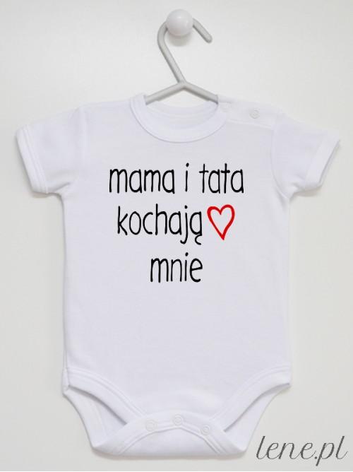 Body niemowlęce  Mama I Tata Kochają Mnie