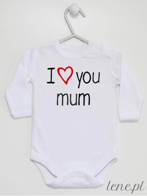 Body niemowlęce I Love Mum
