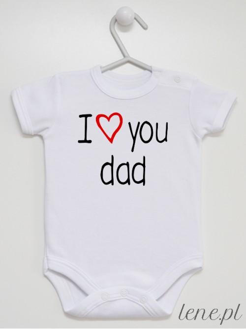 Body niemowlęce I Love Dad