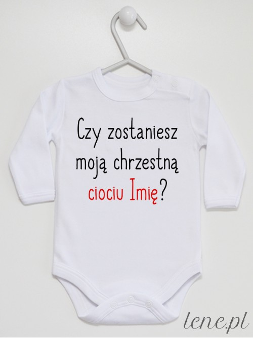 Body niemowlęce Chrzestna