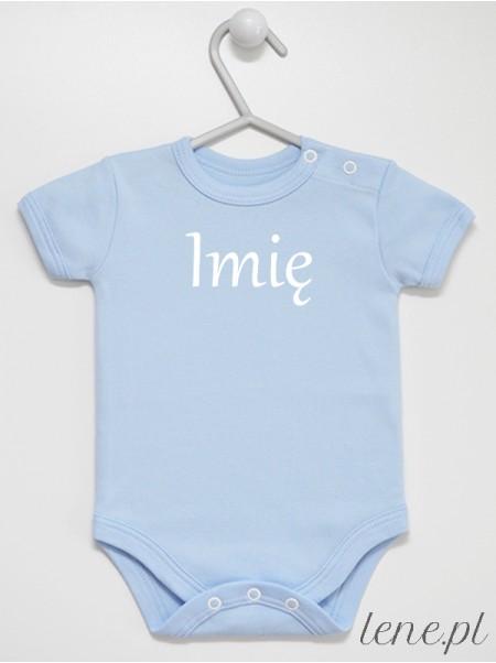 Imię 01 - body niemowlęce