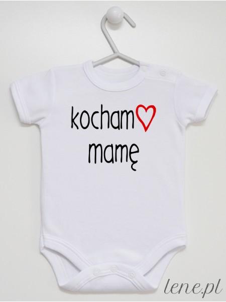 Kocham Mamę - body niemowlęce
