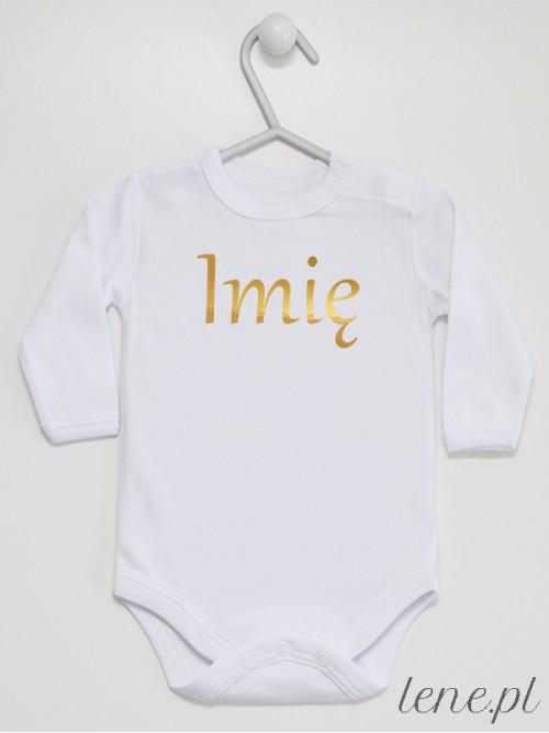 Body niemowlęce Imię Złote