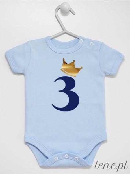 Trójka W Złotej Koronie - body niemowlęce
