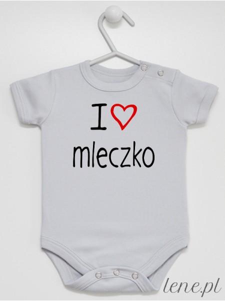 I Love Mleczko 01 - body niemowlęce