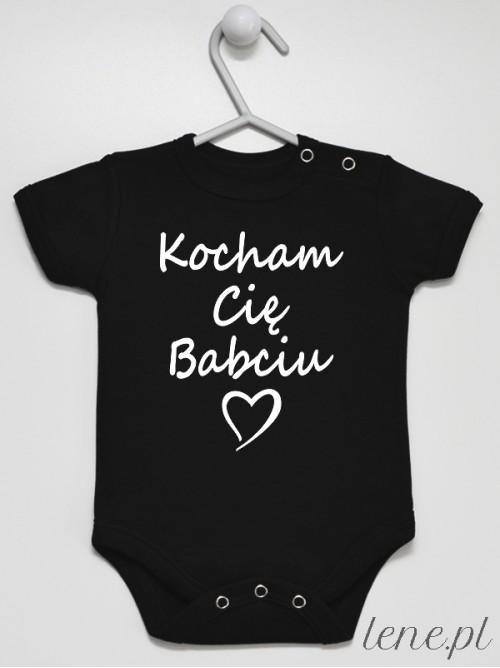 Body niemowlęce  Kocham Cię Babciu