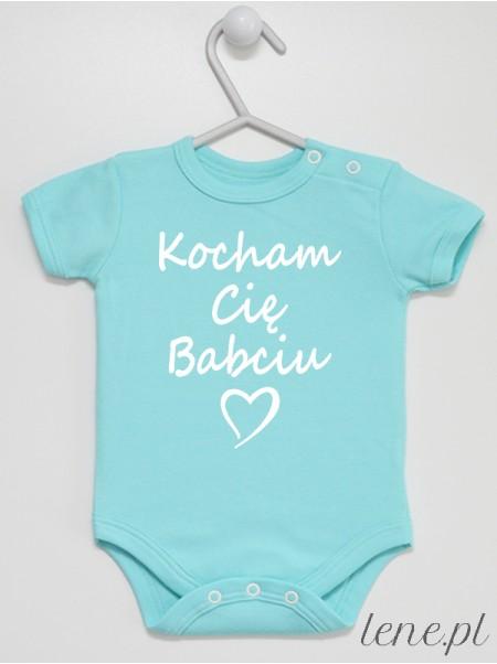 Kocham Cię Babciu - body niemowlęce