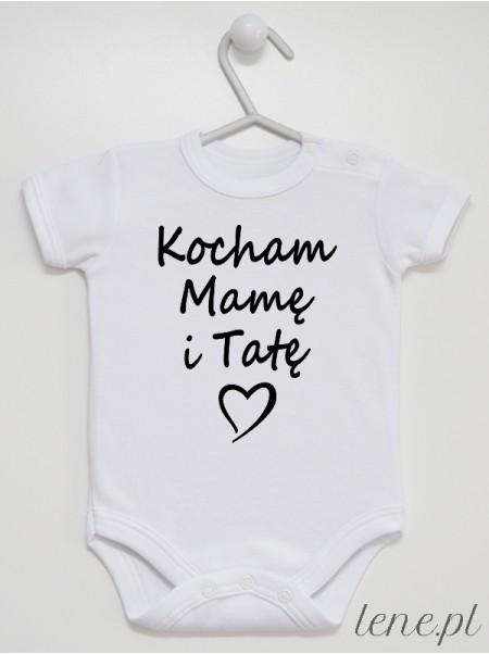 Kocham Mamę I Tatę - body niemowlęce