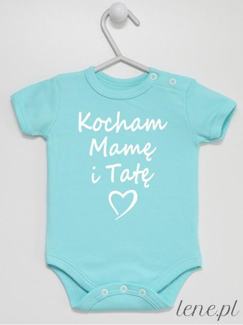 Body niemowlęce  Kocham Mamę I Tatę
