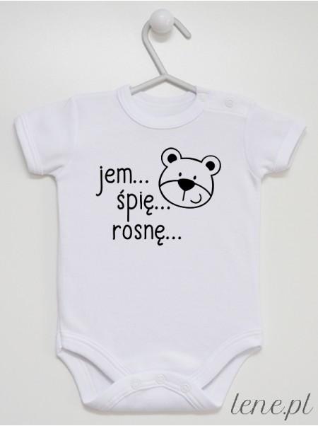Jem Śpię Rosnę - body niemowlęce