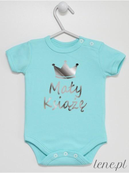 Mały Książę Srebrny - body niemowlęce
