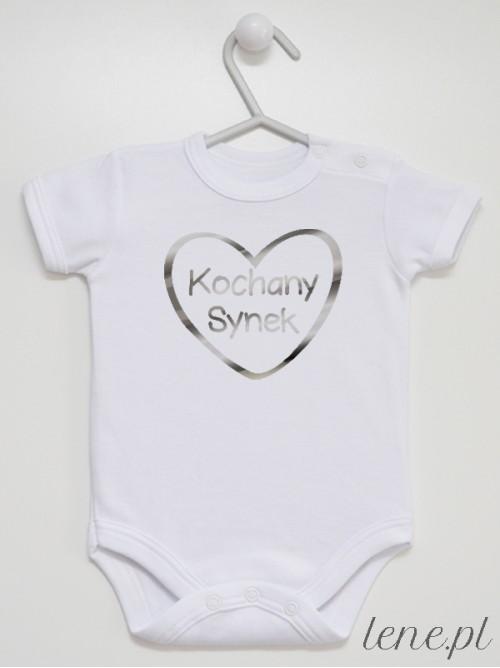 Body niemowlęce  Kochany Synek Srebrny