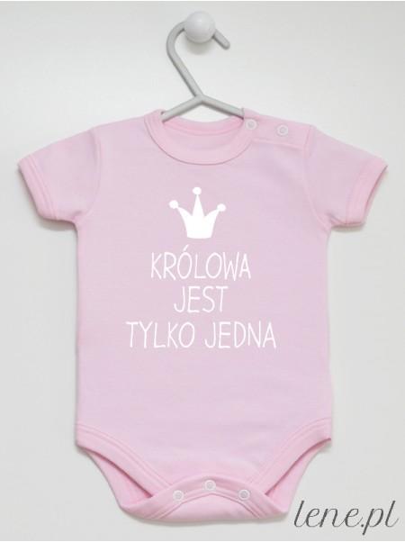 Królowa Jest Tylko Jedna - body niemowlęce