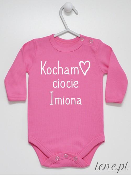 Body niemowlęce Kocham Ciocie + Imiona Cioć