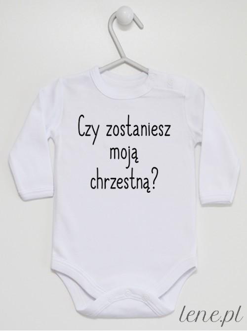 Body niemowlęce Czy Zostaniesz Moją Chrzestną 01