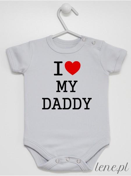 I Love My Daddy 01  - body niemowlęce