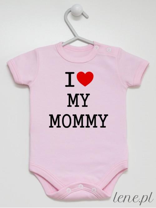 Body niemowlęce I Love Mommy 01