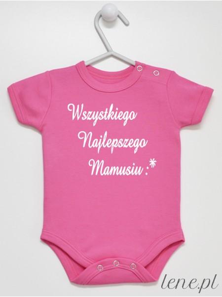 Wszystkiego Najlepszego Mamusiu 02 - body niemowlęce