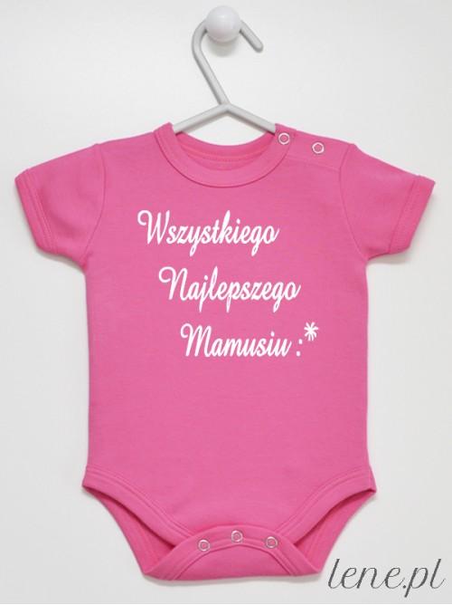 Body niemowlęce Wszystkiego Najlepszego Mamusiu 02