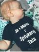 Ja + Mama = Spłukany Tata 01 - body niemowlęce