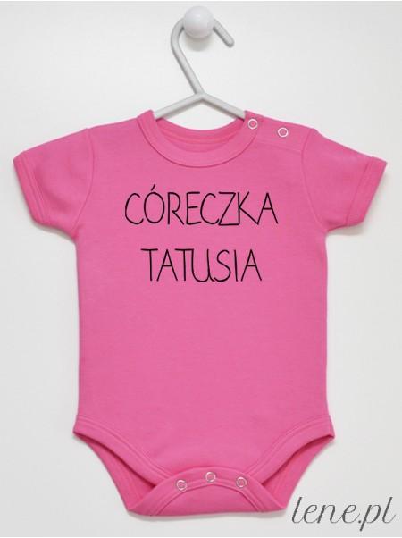 Córeczka Tatusia 01 - body niemowlęce