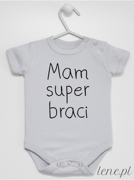 Mam Super Braci 01 - body niemowlęce