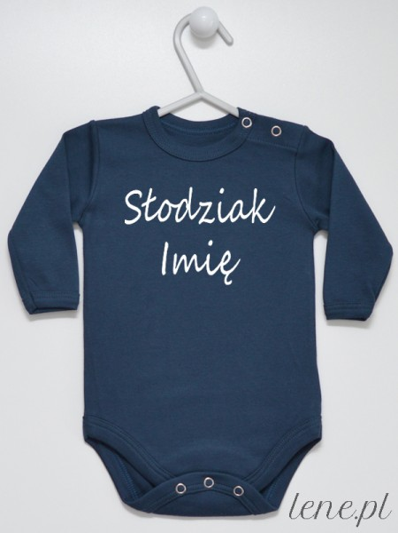 Słodziak + Imię 01 - body niemowlęce