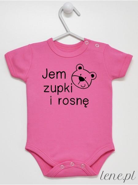 Jem Zupki I Rosnę - body niemowlęce