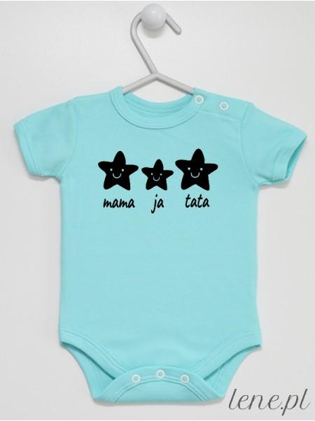 Gwiazdki Rodzinka - body niemowlęce