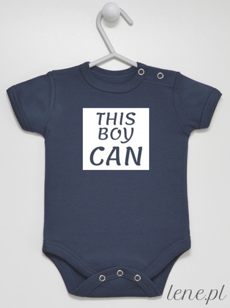 This Boy Can - body niemowlęce