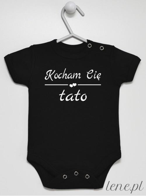 Body niemowlęce Kocham Cię Tato 02