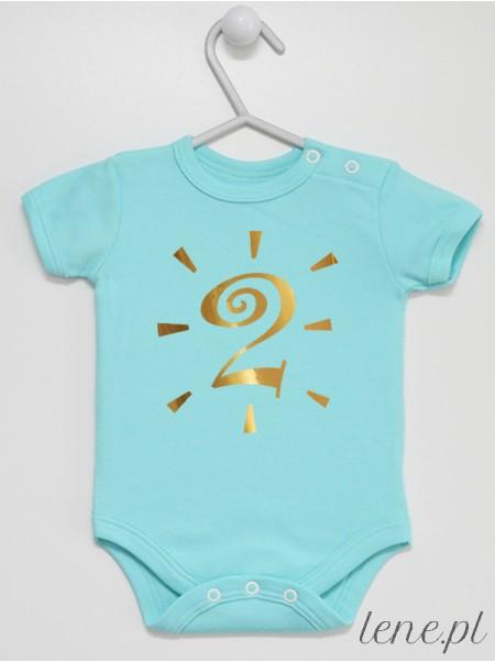 Na drugie urodziny - body niemowlęce