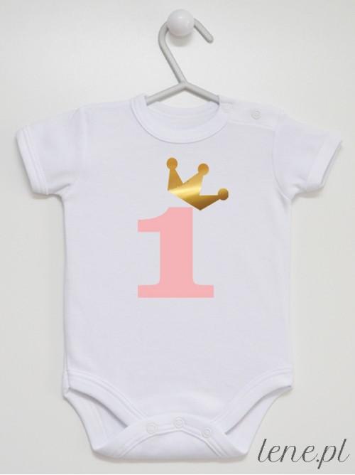 Body niemowlęce Jedyneczka Ze Złotą Koroną