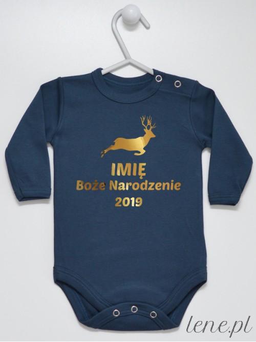 Body niemowlęce Boże Narodzenie + Twoje Imię i Rok