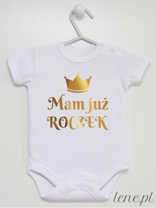 Body niemowlęce Mam Już Roczek Złota Korona