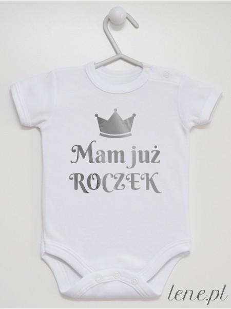 Mam Już Roczek Srebrna Korona - body niemowlęce
