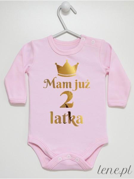 Dwa Latka Złota Korona - body niemowlęce