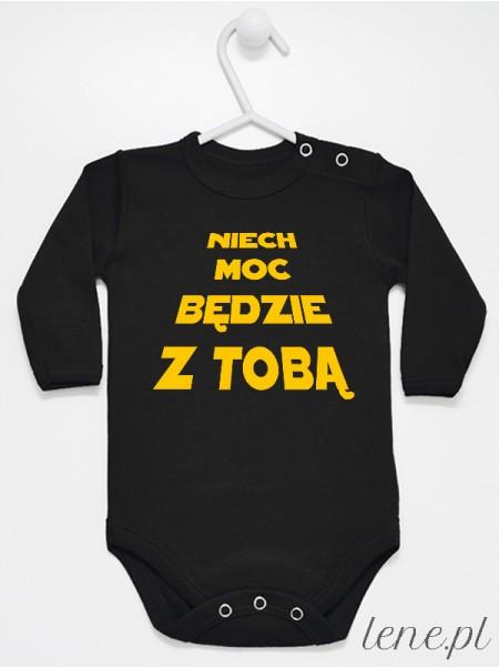 Niech Moc Będzie Z Tobą - body niemowlęce